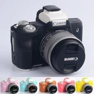 Canon M50 Bags Canon M100 Mirrorless Camera Case EOS M3 Silicone Cover EOS M5 Protective Case EOS M6 EOS M10 Camera Bag Soft Case Sleeve mirrorless Camera Bags