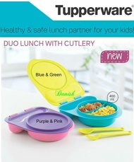 Authentic Tupperware Kids Adults The Best Lunch Box Snack Container *BPA Free* Best Present/School- Duo Lunch Box