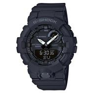 【CASIO 卡西歐】G-SHOCK 多功能雙顯男錶 樹脂錶帶 黑色錶面 防水200米 藍牙連線功能(GBA-800-1A)