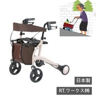 【感恩使者】電動散步購物車-折疊式 W2011(日本製-助行器 助步器 步行推車)