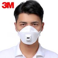 安防 實用 \n口罩3m防塵透氣不可清洗易呼吸帶呼吸閥FFP2級9322焊接防霧霾口罩