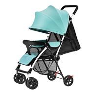 手推車 嬰兒推車超輕便攜式可坐可躺簡易折疊新生嬰兒童車寶寶手推車傘車【全館九折】
