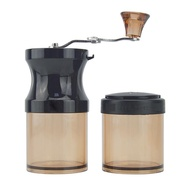 Manual Coffee Bean Grinder with Fortified Storage Jar Durable Cafe Bean Mill Coffee Maker Kitchen Tools