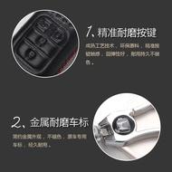 精品適用于三菱歐藍德outlander鑰匙套19款歐藍德outlander鑰匙套鑰匙包車鑰匙真皮保護套