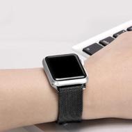 【吉米3C】蘋果手錶 錶帶 米蘭式 不鏽鋼 磁力吸附 Apple watch 1/2/3/4/ 5代(44mm/42mm  加贈 手錶支架)