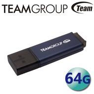 Team 十銓 64GB C211 USB3.2 隨身碟 紳士碟 鋁合金 LED指示燈