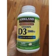美國Kirkland D3 2000iu 保健品