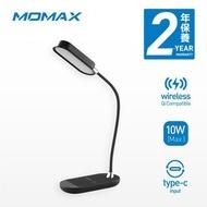 MOMAX - Q.LED Flex 無線充電座檯燈 10W 黑色 QL5D