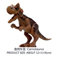 Small Meat Cow Dragon Building Blocks Dolls Bags Compatible Lego Dinosaur Series Jurassic Period Park P 468