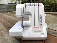 SED鴿子窩:瑪麗克Merrylock 740DSA四線拷克機.