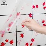 日本廚房防油貼紙耐高溫灶臺瓷磚墻貼隔油貼鋁箔油煙貼防水壁紙1入