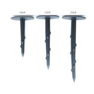 【綠海生活】 ( 16cm / 21cm /25cm )  塑膠釘 固定釘- 適用 雜草蓆 雜草抑制蓆 黑銀布