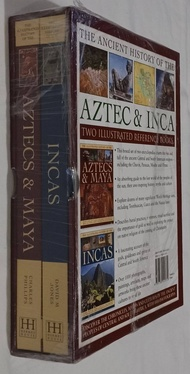 The Ancient History of The Aztec & Inca: Two Illustrated Reference Books Boxset 2 Books (Hardcover)