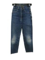 TRUSSARDI虎猴子日徽章牛仔褲(牛仔褲牛仔褲)033694 CROWN STORE - USED BRAND CLOTHING STORE
