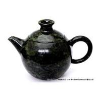 茶壺空間特別分享黃櫳賢開口笑壺(台灣墨玉石雕壺)220cc