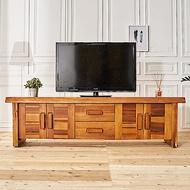 時尚屋 瑪瑞7尺實木電視櫃  寬211x深45x高60cm