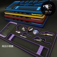 瀧萊 彩色槍箱海綿版 槍箱 海綿 共六色 釣蝦 鋁箱 泡綿 工具箱 工具盒 天平 竿架 雷射 卡夢