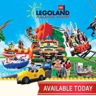 LEGOLAND Malaysia Ticket Theme Park Water Park Sea Life Combo Johor Bahru