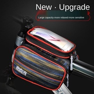 Waterproof Phone Front Frame Tube Frame Pouch Bag For Mtb Road Cycling