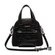 [Beauty Bag美包館] 黛安娜復古手提包-黑色 MIT手工真皮包 斜背包