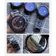 新款 Ferrari 法拉利 男士手錶 三針眼跑秒 原裝進口石英機芯 實心鋼帶 (免運費)