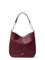 (Kate Spade New York) Kate Spade New York Robson Lane Sana Leather Bag , Cherry Wood-
