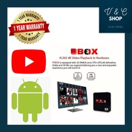 PV BOX 3 | TV Box | HD | 8K Movies + Channels | MCMC | Android | Wifi | 2GB RAM 16GB ANDROID TV BOX 易播高清电视盒