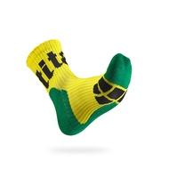 【Titan】太肯側向運動襪M黃/綠/黑