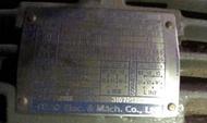 全新備品 東元 三相感應電動機 AEHL 3HP 馬達 工業馬達