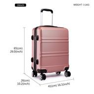 กระเป๋าเดินทางและกระเป๋าเดินทาง การเดินทาง กระเป๋าเดินทาง ขนาด 20/24/28 นิ้ว ดีไซต์เรียบหรู แข็งแรงทนทาน bags Travel luggage SiamTourist 1871