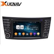 รถวิทยุAndroidอัตโนมัติสำหรับMercedes Benz E Class W211 CLS Class W219นำทางGPSสำหรับรถยนต์นำทางGPS DVD Playerสำหรับmercedes Benz