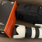 99% New Sony FE 70-200mm F2.8 GM OSS 小白 行貨