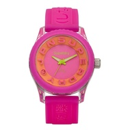 Superdry Tokyo SYL148P Analog Quartz Pink Silicone Womens Watch