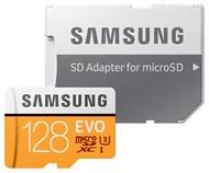 SAMSUNG 128GB 128G microSDXC【EVO 100MB/s】EVO microSD SDXC U3 C10 4K MB-MP128GA 手機記憶卡