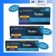 [READY STOCK - LOCAL SET] *1S/4S/10S/20S Kits* Abbott Panbio COVID-19 Antigen Self Test Pack Antigen Rapid Test ART Kit