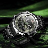 KADEMAN Men Watch Quartz Male Clock Design Sports Watch Waterproof Stainless Steel Wristwatch