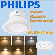 PHILIPS SMALU remote control LED Downlight False Ceiling / 3 tone/ Dimmable