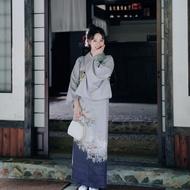 🍉原創設計🍉限時賞味新款少女日本浴衣溫柔復古日系料理改良佳期如夢和服