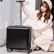 KLQDZMS 18นิ้วABS + PCกระเป๋าเดินทางแบบลากSpinnerหญิงCarry Onกระเป๋าเดินทางกระเป๋าลากผู้หญิงกระเป๋ากล่องเดินทาง