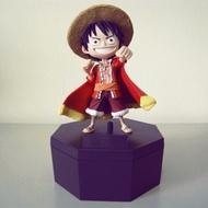 日本海外限定海賊王 15週年獨家紀念版 大公仔 + 收藏盒 - 魯夫