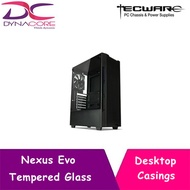 Tecware Nexus Evo Tempered Glass Casing (Black)