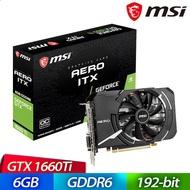 微星 GeForce GTX 1660 Ti AERO 6G OC 顯示卡