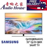 SAMSUNG 55INCH QLED Q80R 4K Smart TV QA55Q80RAKXXS