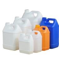 【本色家居】5公斤專拍塑膠方桶形酒桶包裝桶壺扁桶密封桶食品級加厚