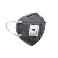 【3M】9041V PM2.5空污微粒防護口罩-活性碳帶閥型 (2片/包)