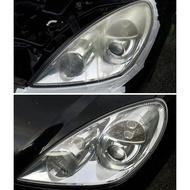 大燈快潔現場施工 Mitsubishi 三菱 SAVRIN Galant Grunder 原廠車大燈泛黃霧化拋光修復翻新