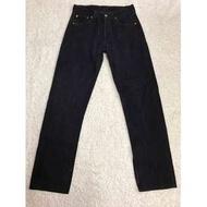 LEVI'S LEVIS 501-0659 W30 L34 全黑直筒牛仔褲 501 502 505 523 522