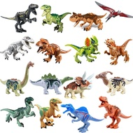 16 dinosaurs/set  Jurassic World Park Model Builing Blocks Compatible with lego