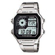 CASIO 卡西歐世界地圖顯示 AE-1200WHD-1A【Watch On-line Store 】