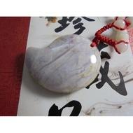 紫底 血絲玉 心臟玉 海石雕 質地潤 東玉